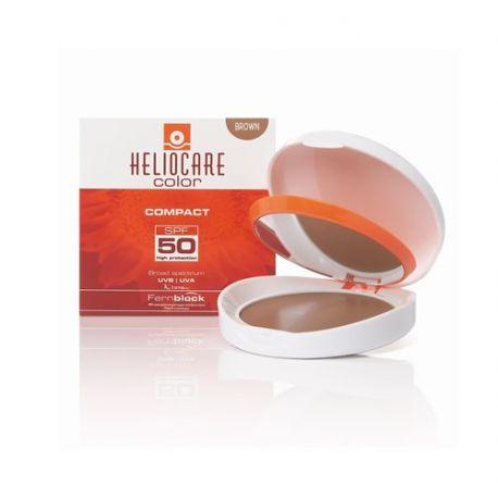 HELIOCARE COMPACTO BROWN OIL FREE SPF50 10GR