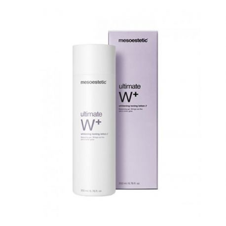 MESOESTETIC ULTIMATE W WHITENING LOCION TONICO 200ML