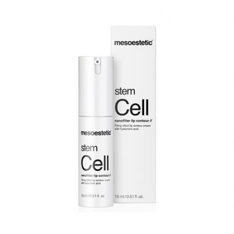 MESOESTETIC STEM CELL NANOFILLER LIP CONTOUR 15ML