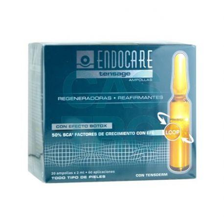 Endocare Tensage Ampollas Efecto Bótox 20 ampollas x 2ml