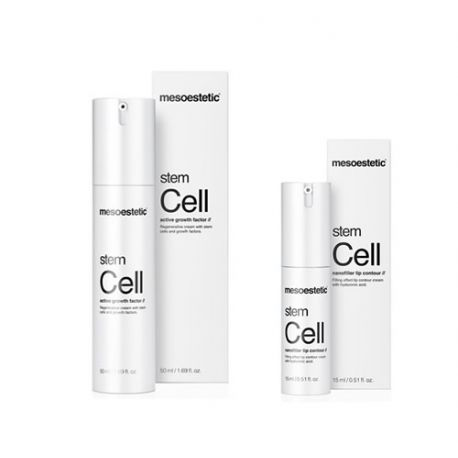 Pack Stem Cell Active Growth Factor 50ML + Nano Filler Lip Contour 15ML