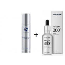 IS CLINICAL Neckperfect Complex 50ml + Mesoestetic Collagen 360º essence 30ml