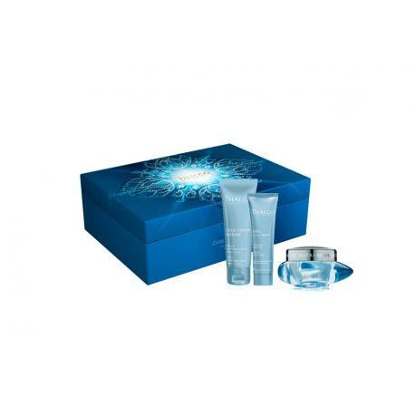 Thalgo cofre cold marine:crema 50 ml, mascarilla 50ml, exfoliante 30ml