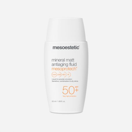 Mesoestetic Mesoprotech Mineral Matt Antiaging Fluid SPF 50
