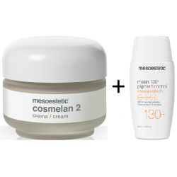 Pack Mesoestetic Cosmelan 2 + Mesoprotech 130+ Pigment Control