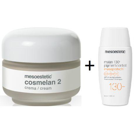 Pack Mesoestetic Cosmelan 2 + Mesoprotech 130+ Pigment Control