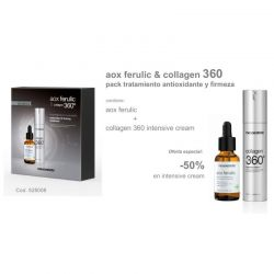 Mesoestetic Aox Ferulic 30ml + Collagen 360º Intensive Crema 50ml