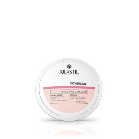 Rilastil Coverlab Maquillaje Compacto SPF 30 Pieles Mixtas y Grasas Tono Honey 02