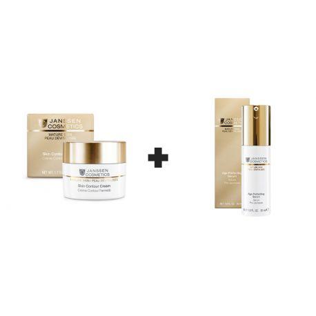 Janssen Cosmetics Skin Contour Cream 50ML+Age Perfecting Sérum 30ML